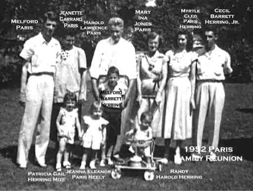 Harold Paris Family