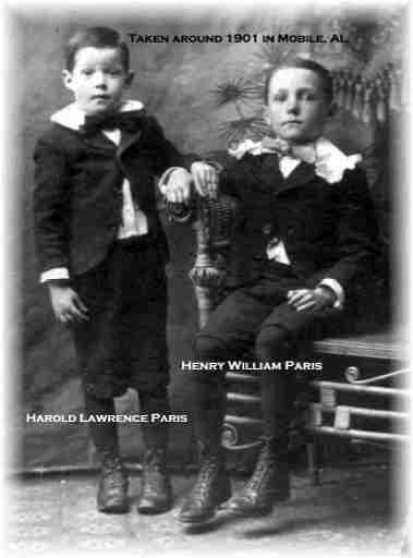 Henry and Harold Paris